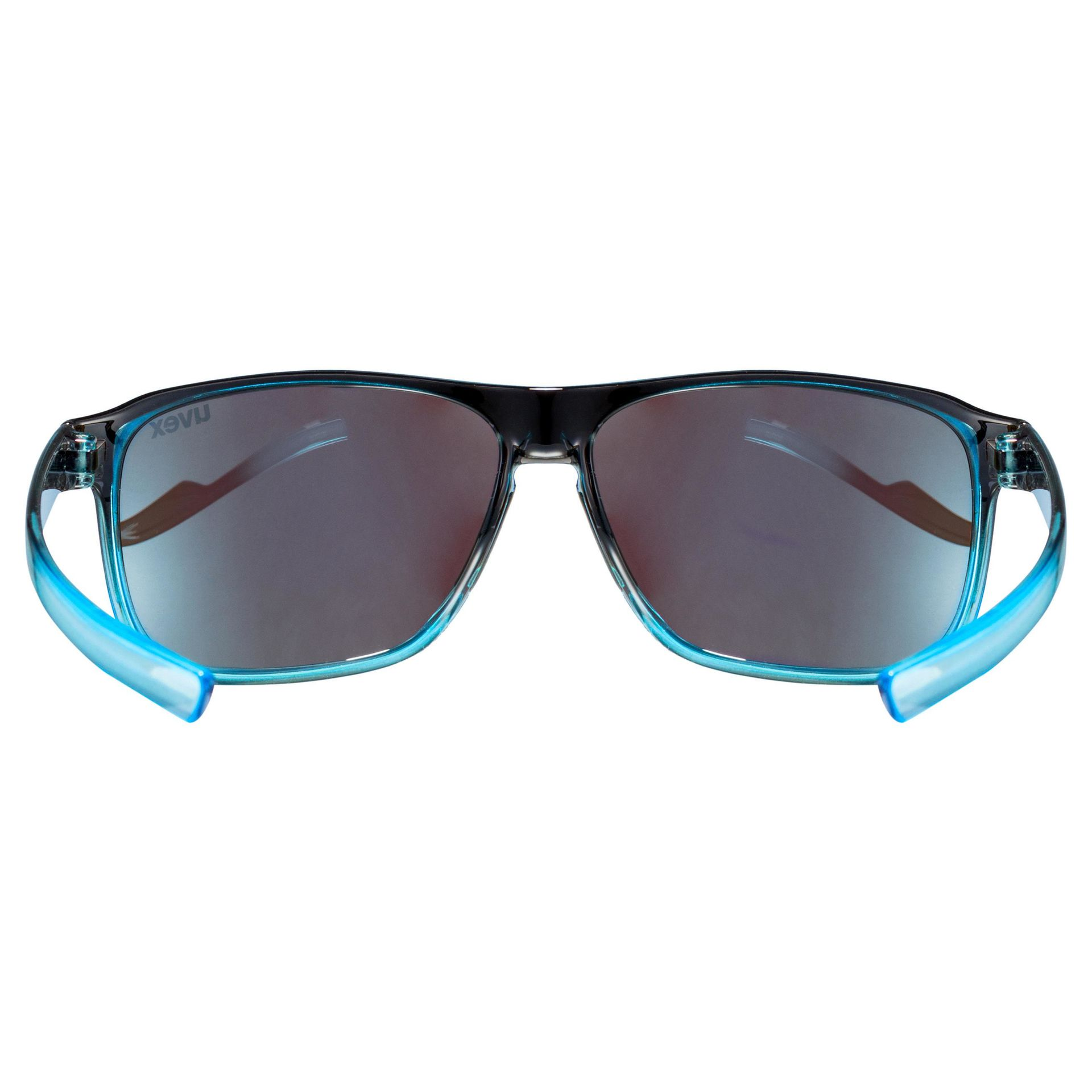 Sonnenbrille Uvex Lifestyle lgl 33 pola schwarz blau NEU